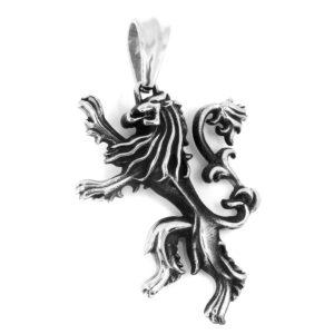 BRUNOshop.cz S1505 Přívěsek LEV z chirurgické oceli